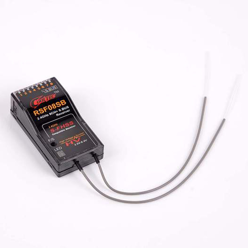 ФОТО Cooltech RSF08SB 2.4GHZ 8ch S-FHSS S.BUS TELEMETRY RECEIVER For FUTABA 10J 8J 6J 4GRS 4PX