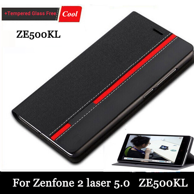 High quality New for Asus Zenfone 2 Laser ZE500KL 5 0 inch Case Ultra thin Leather