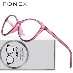 901aeac4f6 FONEX Glasses Frame Women Clear Eyeglasses Optical Eyewear