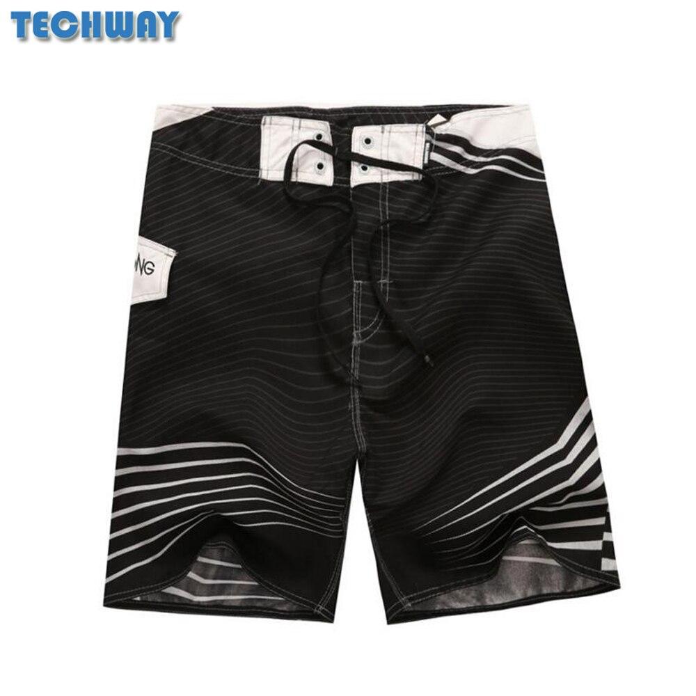 Whosale 2018 New Hot Mens Shorts Surf Board Shorts Summer Sport Beach Homme Bermuda Short Pants Quick Dry Silver Boardshorts bermuda 2015 100% marca boardshorts bermuda masculina