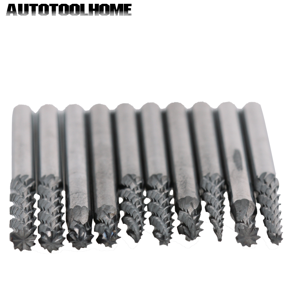 "20Pcs Tungsten Cylinder Rotary Burrs Drill Bit Double Lines Power Tool 1//8/"" 3MM"