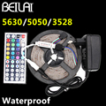 IP65 Waterproof 5M 300LED RGB LED Strip 5050 5630 3014 2835 DC 12V Iluminacion LED Light Flexible Neon Lamp Tiras Power Remote