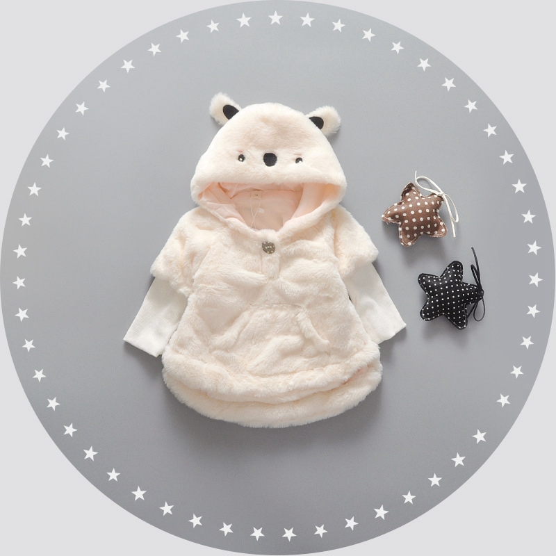 Autumn-Winter-Baby-Infant-Solid-Faux-Fur-Fleece-Long-Sleeve-Cartoon-Hooded-Kids-Pullover-Outerwear-Girls-Coat-roupas-de-bebe-1