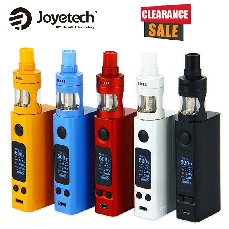 Joyetech evic vtwo mini vape kit 4 ml Cubis pro tanque vs 75 W vtwo mini mod no 18650 batería e-cigarrillo kit vs evic primo mini