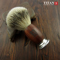 Men Shaving Brush Hand-made Badger Silvertip Brushes Aluminum Handle Brocha De Afeitar Badger Hair Knot Made in Taiwan
