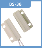 BS 38 אבטחה מעורר Wired חלון דלת מגנטית חיישן גלאי מתג עבור GSM ריד מתג דלת מנעול switch