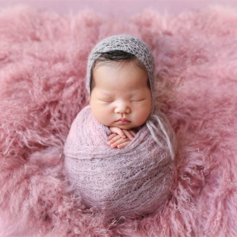 Us 39 0 Pure Wool Blanket Curly Rug Posing Fabric Photography Prop Backdrop Basket Filler Long Pile Flokati Newborn Photo Props In