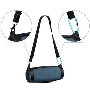 Image 5 - Silicone Case Cover Skin With Strap Carabiner for JBL Charge 4 Portable Wireless Bluetooth Speaker