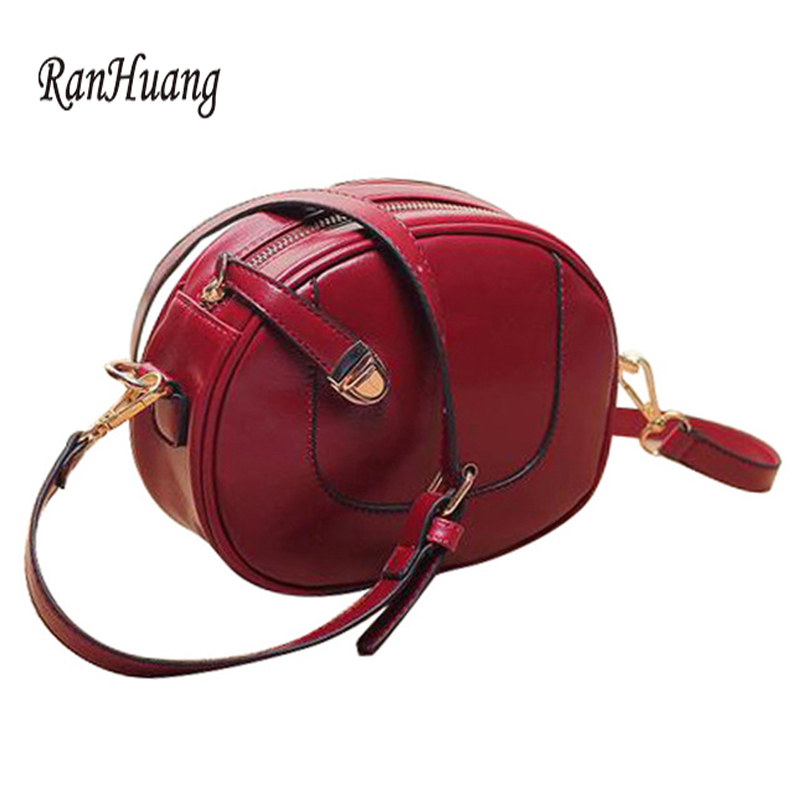 RanHuang 2017 Europe Style Fashion Women Mini Bag Vintage PU Leather Handbags Women's Small Shoulder Bags Crossbody Clutch Bags europe style hollow out handbags women pu leather crossbody shoulder bag