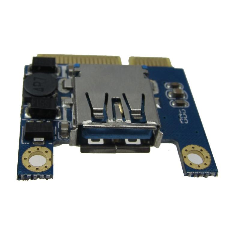 Mini PCIe till USB-adapter / omvandlare mini-kortstöd USB WiFi, - Datorkablar och kontakter - Foto 5