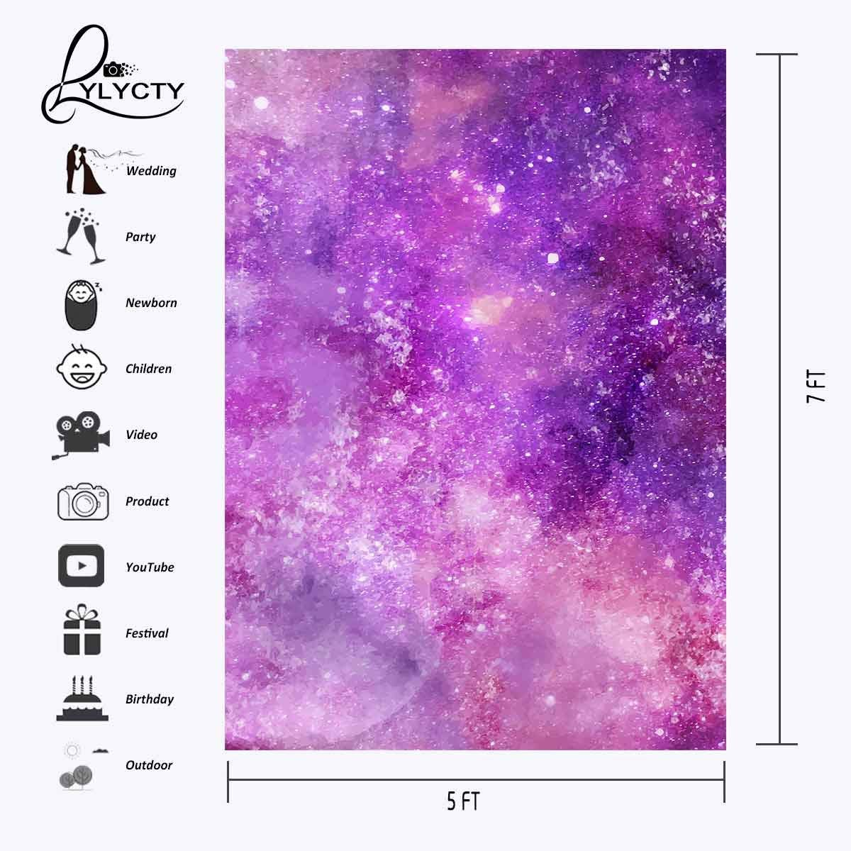 150x220cm Ultra Violet Color Photo Backdrops Photography Studio Background Studio Props in Photo Studio Accessories from Consumer Electronics