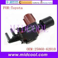 Новый Вакуумный Выключатель Клапан Электромагнитный использование OE НЕТ. 25860-62010 для Toyota