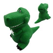 Anime Original película juguete historia 3 Rex el dinosaurio verde PVC  figura juguete alcancía cumpleaños Navidad Año nuevo rega. 2884f3b5cc5