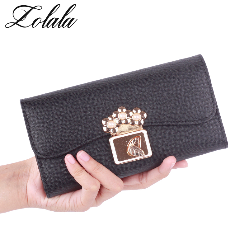Zolala Fashion Luxury Designer Famous Brands Long Women Wallets Card Holder Female Clutch Women's Purse Coin Money Bag Walet candy leather clutch bag women long wallets famous brands ladies coin purse wallet female card phone holders carteira feminina