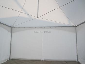 Darmowa dostawa! Na zewnątrz 5m x 5m szczyt namiot namiot w kształcie pagody wiosna namiot imprezę i wesele z baldachimem dla każdego wydarzenia tanie i dobre opinie OUHAI Namiot dla ponad 8 osób Pręt ze stopu aluminium PAG5X5 3000mm white red blue green yellow black transparent