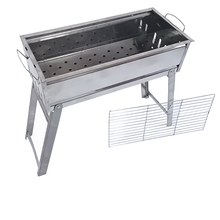 High quality large camping stainless steel car bbq charcoal grill