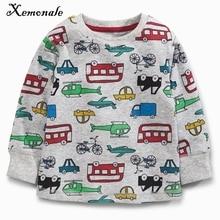 Xemonale Kids Boys Girl Sweatshirts Clothing Autumn Winter Fashion Long Sleeve Tops Toddler Childrens Cartoon Sportswear Clothes