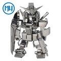 MU Metal 3D Rompecabezas Gundam Obsidiana SOA-SD01 Armas-SD Robot Modelo de Construcción de BRICOLAJE Corte Láser 3D Jigsaw Juguetes