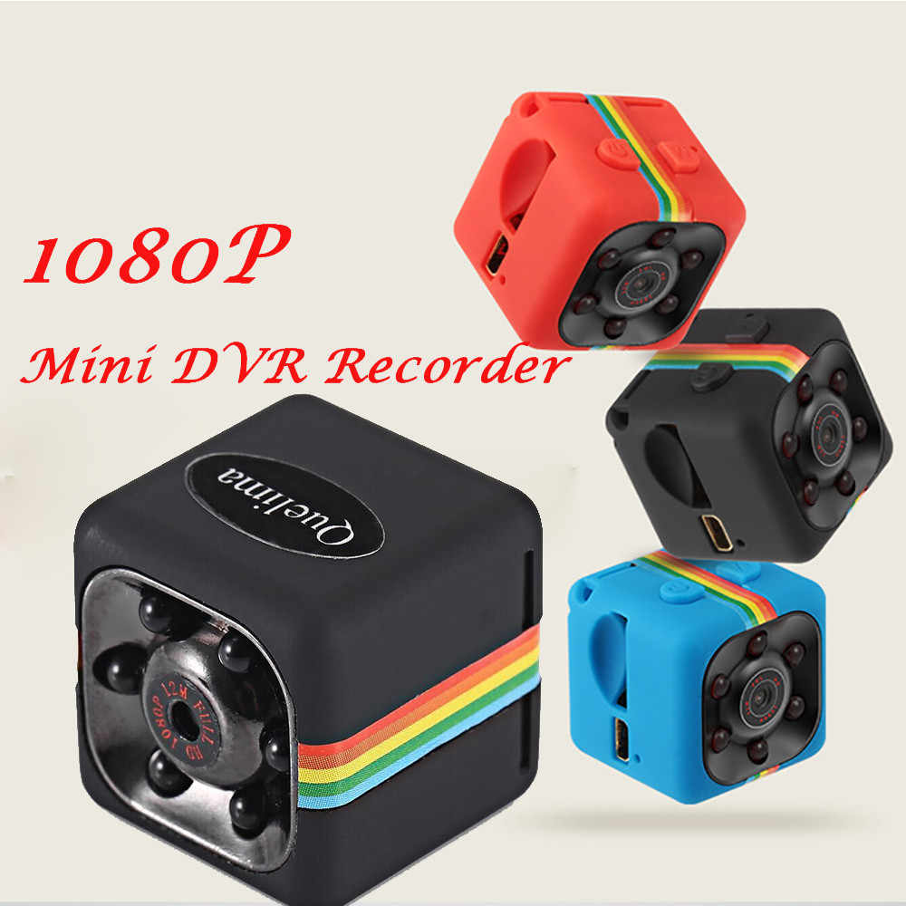 Dash Cam Quelima SQ11 Mini Full Hd 1080P Dv Sport Actie Camera Dvr Recorder Camera Rd Tv Monitor Video aansluiting #612