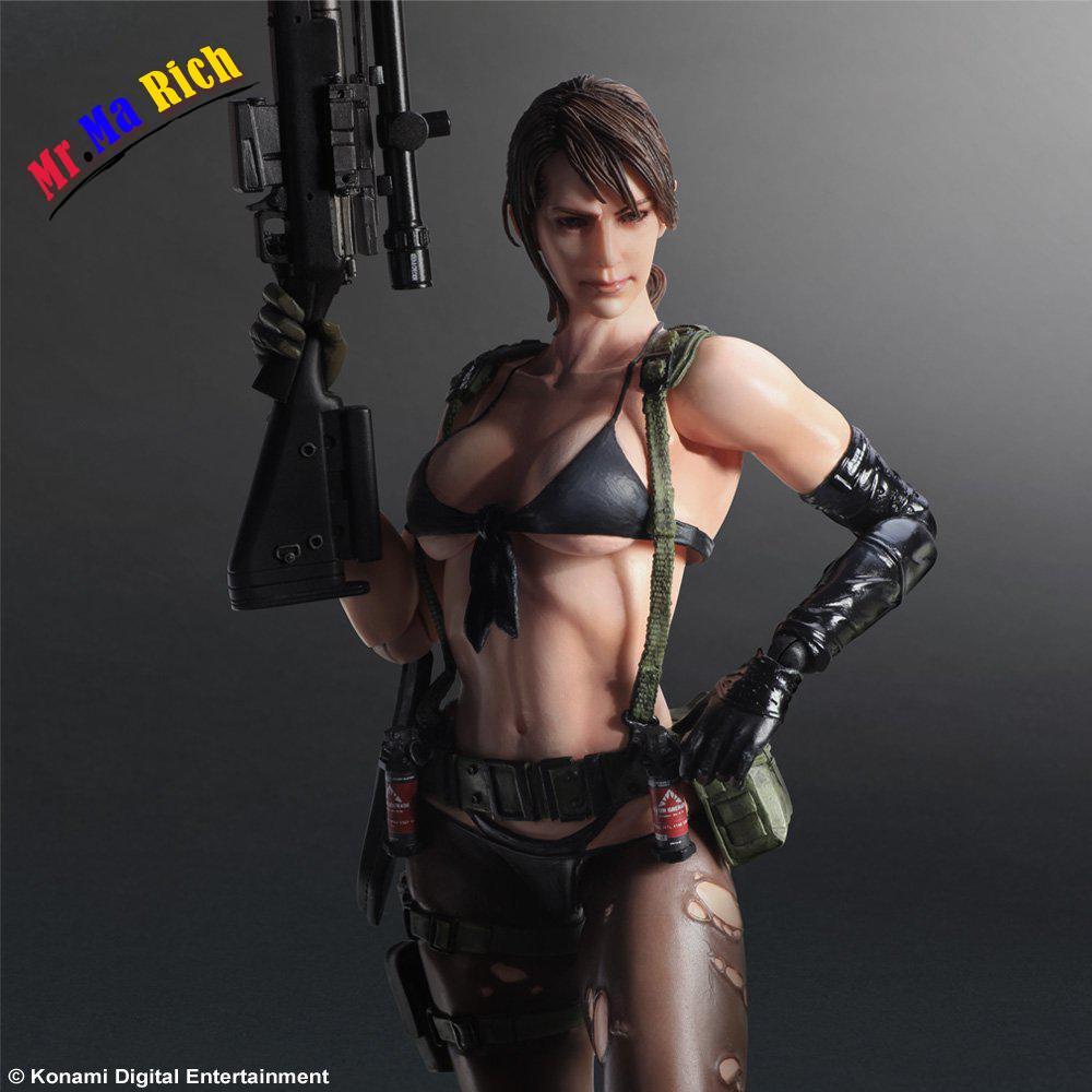 Metal Gear Solid V Varianti Gioca Arts Kai Painted 1/6 Scala Silenzio Doll Action Pvc Figure Da Collezione Modello Giocattolo
