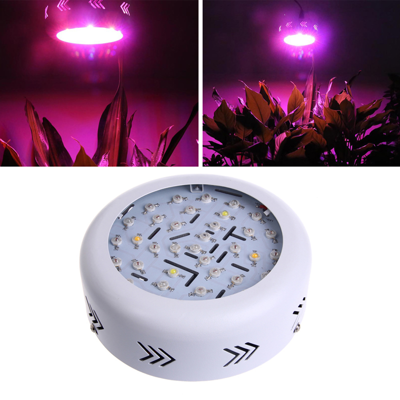 360W AC 85-265V 36 LED LED Grow Light Full Spectrum Hydro Flower Plant US Plug us plug 3w rgb revolving led light yellow white ac 85 265v