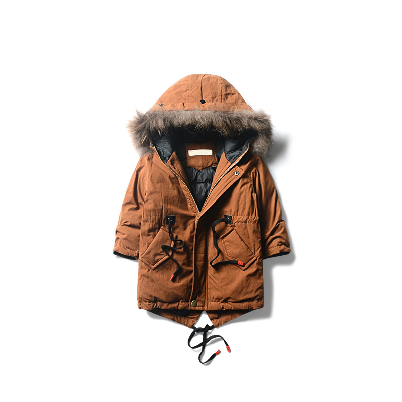 New Fashion Warm Winter Clothes Solid Color Jacket Children Clothing Windbreaker Jean Jackets Casual Hooded Thick Warm Coat 2016 brand clothing winter jacket men fashion design hooded thick solid down jacket for men patchwork warm coat size s xxxl