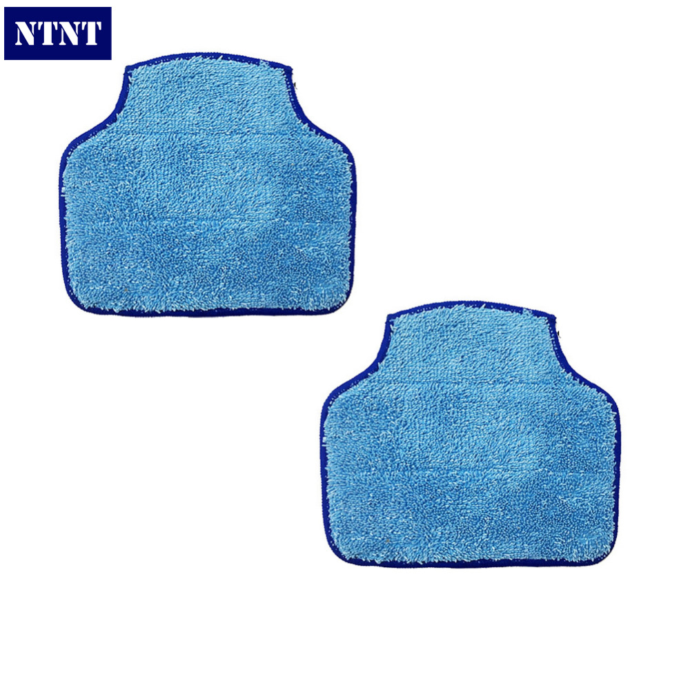 NTNT 2 Piece Replacement Mopping Cloth for XV-11 XV-12 XV-14 XV-15 XV-21 Botvac 70e 75 80 85 Cleaner Mopping Cloth 1 piece robot brush motor belt for neato botvac series 70e 75 80 85 robotic vacuum cleaner brush drive parts
