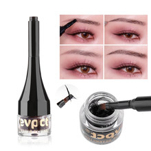 Black&Brown Eyebrow Make Up Wigs Fiber Extensions Eye Brow Cream Gel Tint Pen Waterproof Instant Eyebrow Tattoo Pen Sweat-proof(China)