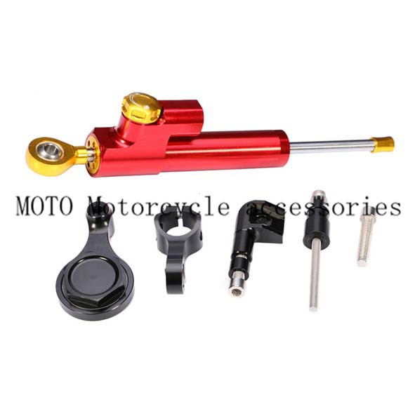 Full set of Motorcycle Mounting Bracket For Yamaha YZF R6 2006 2007-2009 2010 2011 2012 2013 2014 With Motor Steering Damper