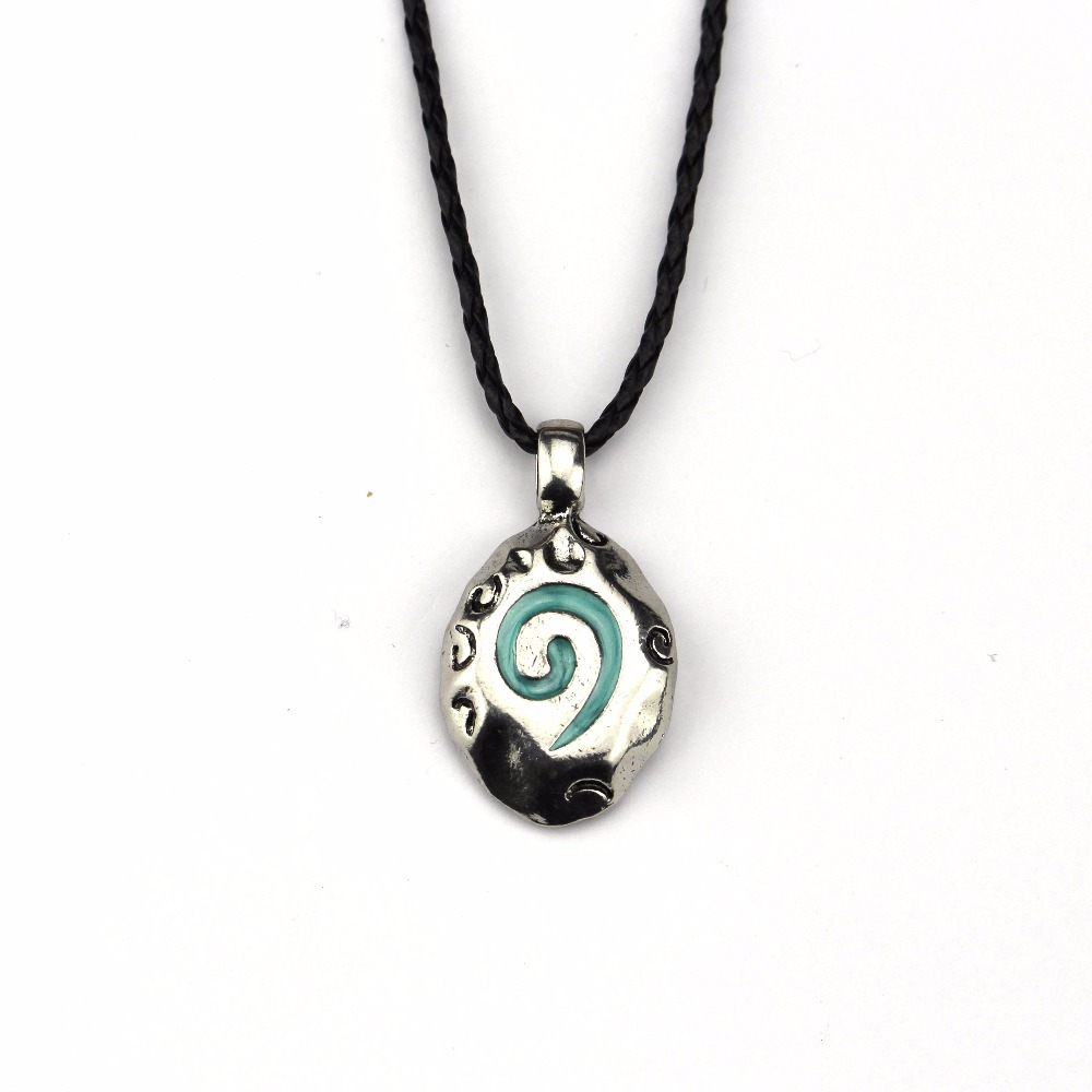 New Hearthstone The Legend Of Warcraft Logo Necklace Fashion Chain Men Gifts