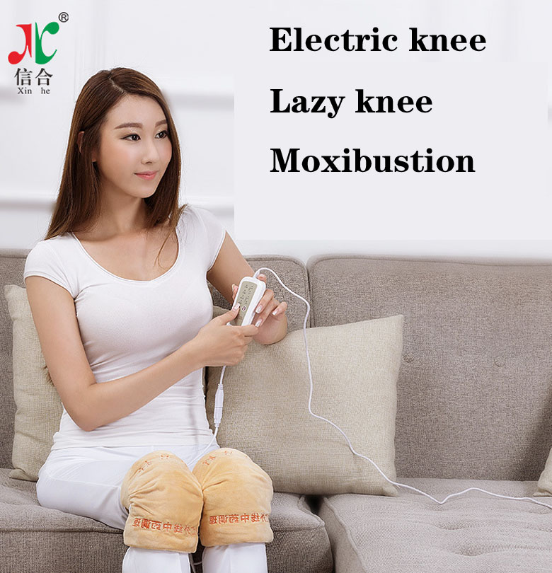 Letter Shu Far Infrared Electric Hot Moxibustion Pain Relief Moxibustion Physiotherapy Instrument Health Knee Protector 1pc seven combined moxibustion cotton cloth cover department of gynaecology carry on moxibustion abdomen waist physiotherapy