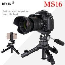 Bexin mini photo smartphone mount selfie digital camera tripod stand travel tripod portable for Canon Nikon IPHONE цена и фото