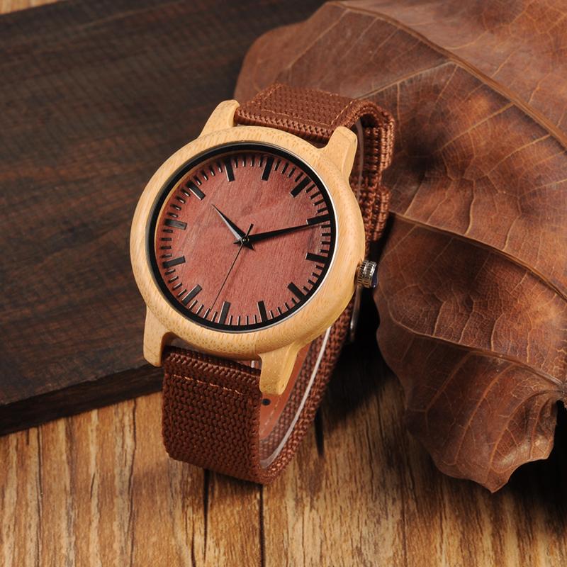 Drewniany zegarek Bobo Bird Style D09
