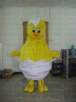 new baby egg chick mascot costumes hot sale ice cream chiken costume