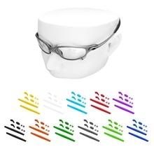 OOWLIT Rubber Kits Nose Pads & Earsocks for Oakley Juliet Sunglasses