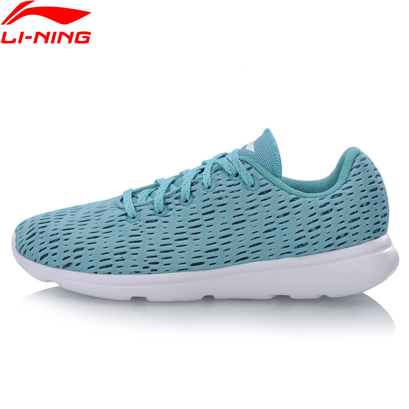Li-Ning 2018 Women E-RUN Running Shoes Breathable Light Weight Li Ning Comfortable Fitness Sports Shoes Sneakers ARBN078 бухта эластичной ленты spirit fitness light e 07