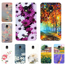 Meizu C9 Pro Case,Silicon Flower Plants Painting Soft TPU Ba