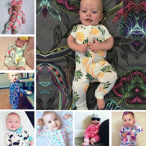 2019 primavera macacao de bebe macacao criancas macacao roupas de algodao de bambu recem nascidos