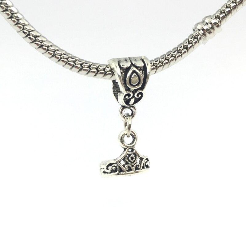 4ad72eebd My Princess Tiara Dangle Pendant Charm European Beads Fit Pandora Charms  BraceletsBangles Necklace ...