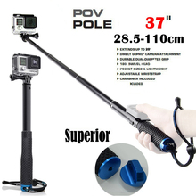 POV Pole 37 Surfing Diving Extendable Self selfie Stick Monopod For GoPro HERO7 6 5 4,3+ SJCAM for Xiaomi Yi Action camera