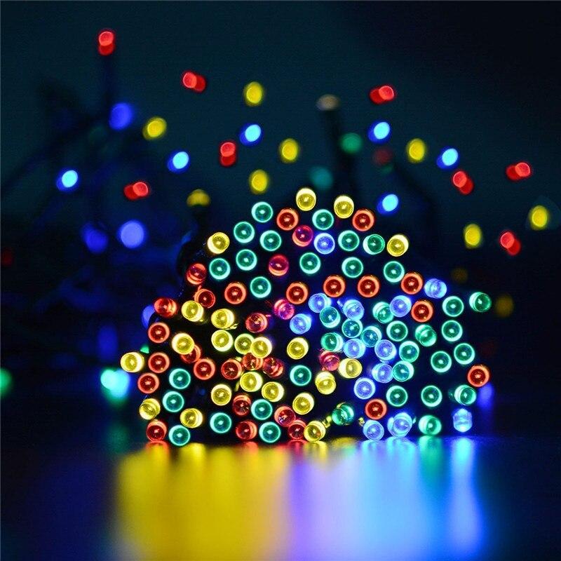 Feimefeiyou 22m 200LED solarni vodootporni festival dekoracija - Rasvjeta za odmor - Foto 2