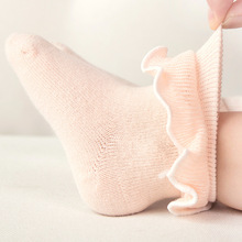 1 Pairs Lace Baby Socks for Girls Cotton Princess Newborn Toddlers 4 Colors 0-3 Years baby girl stuff  fashion socks