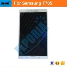 100% haute qualité 8.4 »LCD Pour Samsung Galaxy Tab S T705 3G LCD Panneau D'affichage Tactile Sreen Digitizer Assemblée verre