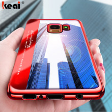 Soft Silicone Case For Samsung Galaxy S9 S7 Edge S8 Plus Case Shockproof TPU Cover A5 A7 J5 J7 2017 2016 Note 8 Protective Cover(China)