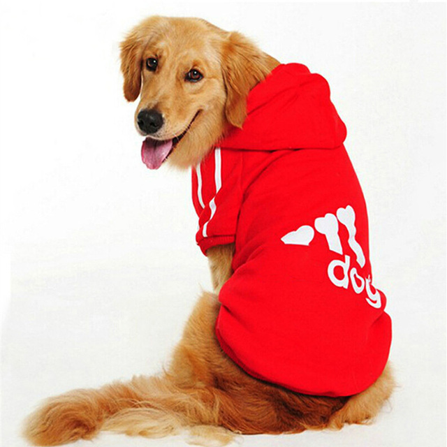 Big Dog Clothes for  Golden Retriever Dogs Large Size Winter Dogs coat Hoodie Apparel Clothing for dogs Sportswear 3XL-9XL