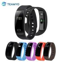 Teamyo qs80 монитор сердечного ритма смарт-группы монитор артериального давления смарт браслет фитнес-трекер смарт браслет для ios android