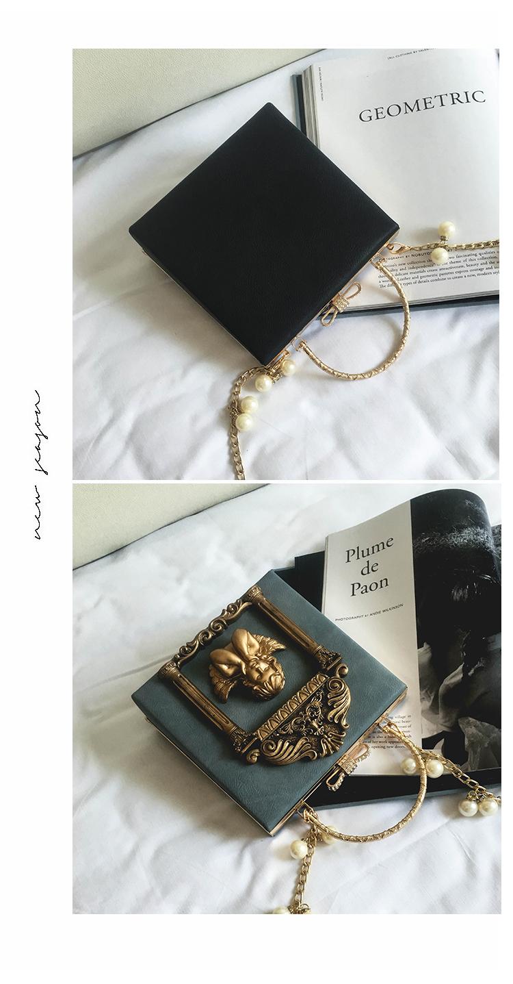 2018 NEW Rose 3D Palace Sculpture Frame Bag Luxury Handbags Women Party Bags Designer Lady Cute Shoulder Messenger Bag Sac Tote 18
