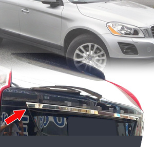 Image 5 - AX FOR VOLVO XC60 2009 2014 Molding Tailgate Door Handle Strip Accent Garnish Styling Chrome Rear Trunk Tail Gate Cover Trim