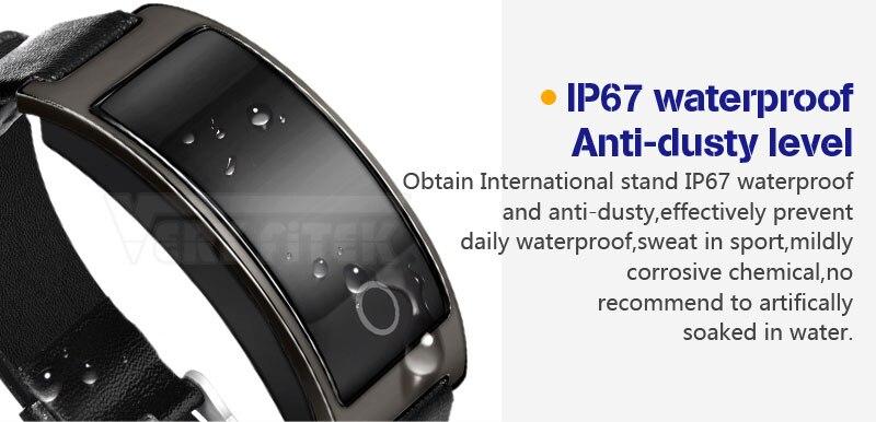 VERYFiTEK CK11S Fitness Bracelet Blood Pressure Smart Wristband heart rate monitor pulsometer Bracelets for xiomi pk fit bit-01 (10)