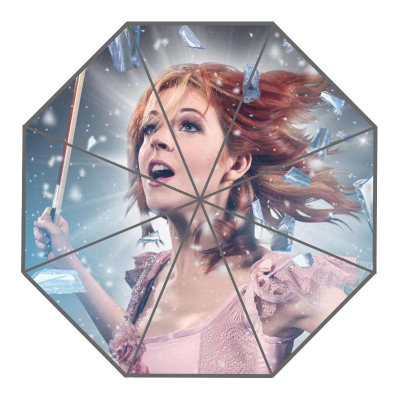 2056321fb899 Click here to Buy Now!! Nice Lindsey Stirling Custom Sunny and Rainy  Umbrella Design Portable Fashion Stylish Useful Umbrellas Good Gift